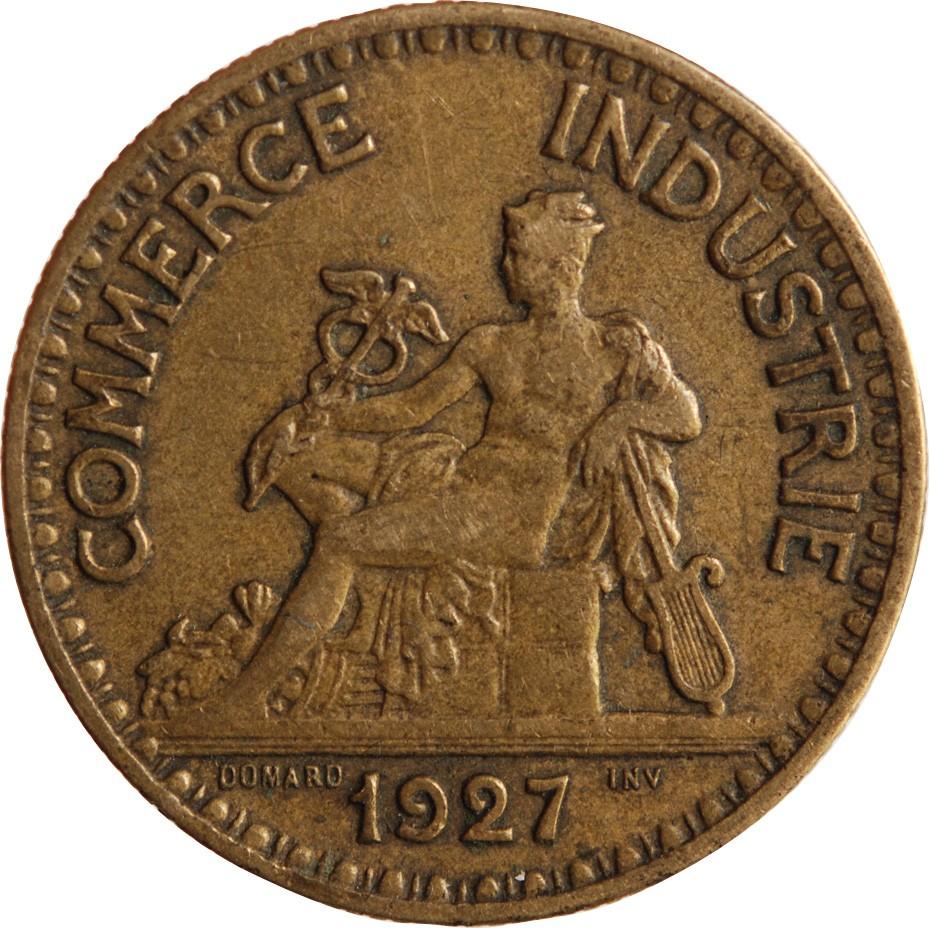 Chambre de commerce 2 francs 1927 for Chambre de commerce fr