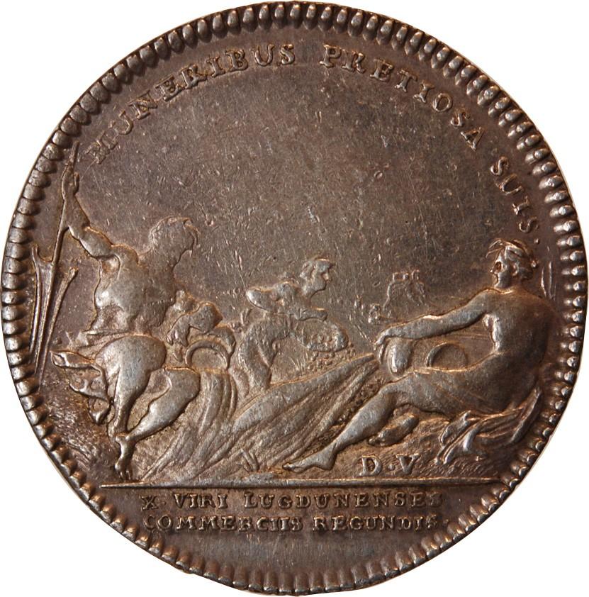 lyon chambre de commerce chambre de commerce lyon jeton argent 1721 ...
