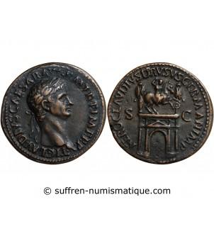 CLAUDIUS - PADOUAN SESTERCE...