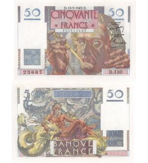 50 FRANCS LE VERRIER...