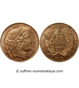 CERES - 10 FRANCS OR 1895 A...