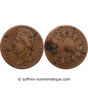 5 CENTIMES CHARLES X 1829 A...