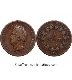 5 CENTIMES LOUIS PHILIPPE...