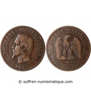 10 CENTIMES NAPOLEON III...