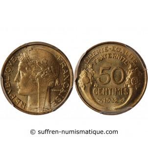 MORLON - 50 CENTIMES 1932...