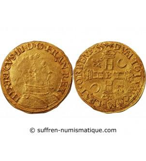 HENRI II - HENRI D'OR 1558...