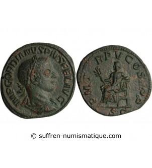 GORDIEN III - SESTERCE ROME...