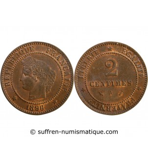 CERES - 2 CENTIMES 1896 A...