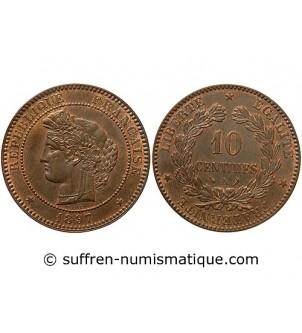 CERES - 10 CENTIMES 1897 A...