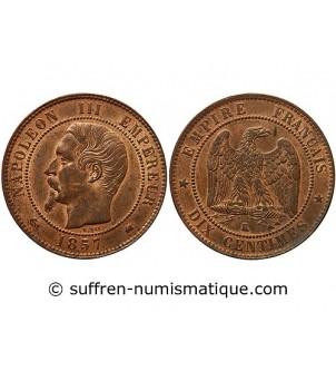 NAPOLEON III - 10 CENTIMES...