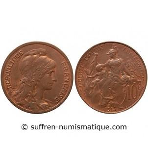 DUPUIS  - 10 CENTIMES 1915
