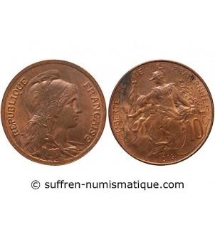 DUPUIS  - 10 CENTIMES 1916