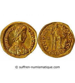 HONORIUS - SOLIDUS OR RAVENNE