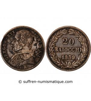 VATICAN, GREGOIRE XVI - 20...