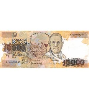 PORTUGAL - 10000 ESCUDOS 1989