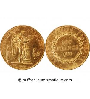 GENIE - 100 FRANCS OR 1878...