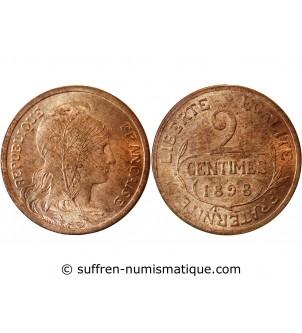 DUPUIS - 2 CENTIMES 1898