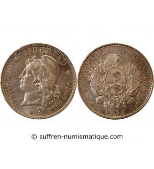 ARGENTINE - 1 PESO ARGENT 1882