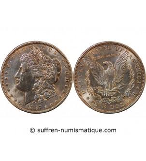 USA - DOLLAR ARGENT 1887...