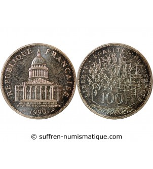 PANTHEON - 100 FRANCS...