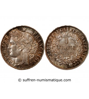 CERES - 1 FRANC 1895 A PARIS