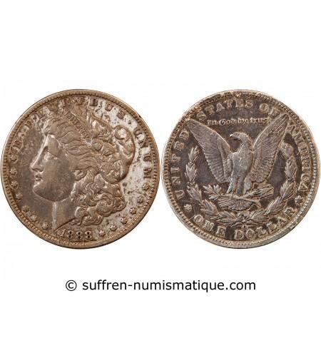 """USA - DOLLAR ARGENT 1880 O NEW ORLEANS """"Morgan Dollar"""""""