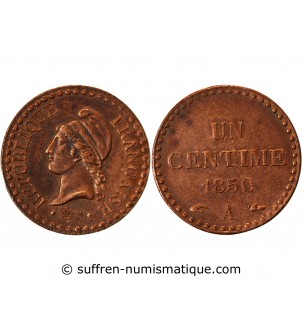 DUPRE - 1 CENTIME 1850 A...