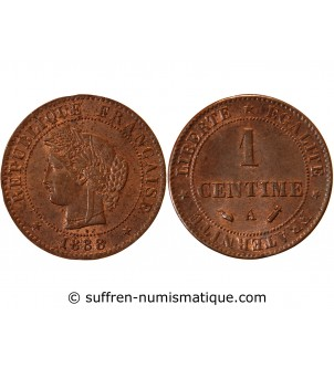 CERES - 1 CENTIME 1888 A PARIS