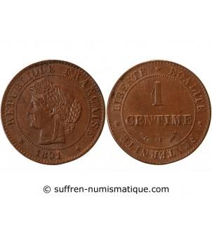 CERES - 1 CENTIME 1891 A...