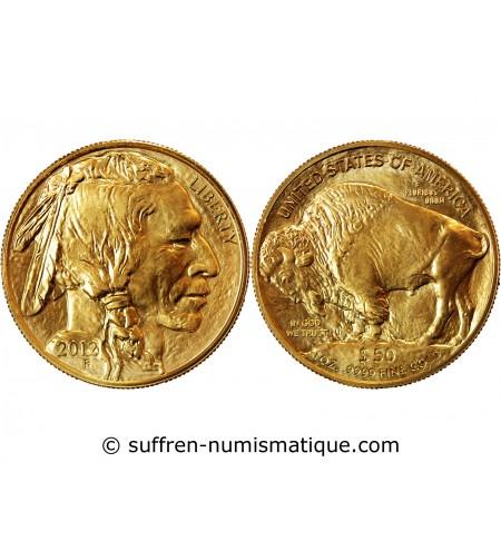 USA, BUFFALO - 50 DOLLARS OR 2012 F