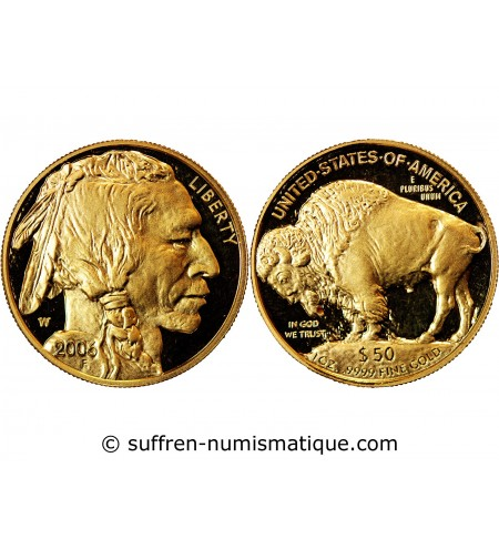 USA, BUFFALO - 50 DOLLARS OR 2006 F