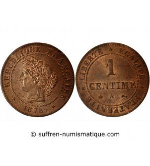 CERES - 1 CENTIME 1878 A...