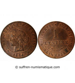 CERES - 1 CENTIME 1884 A...