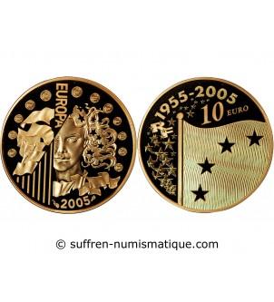 FRANCE, EUROPA - 10 EURO OR...