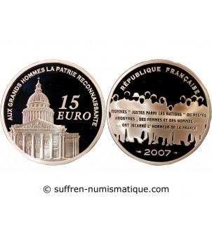FRANCE, PANTHEON - 15 EURO...