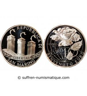 SAN MARIN - 10 EURO ARGENT...