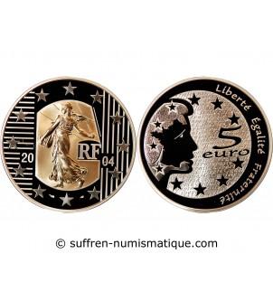 FRANCE, SEMEUSE - 5 EURO OR...