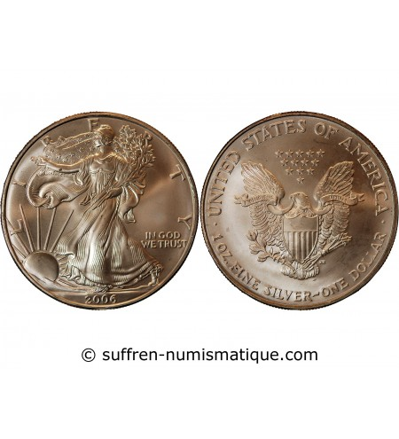 USA - ONCE LIBERTY ARGENT 2006
