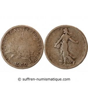 SEMEUSE - 1 FRANC ARGENT 1900