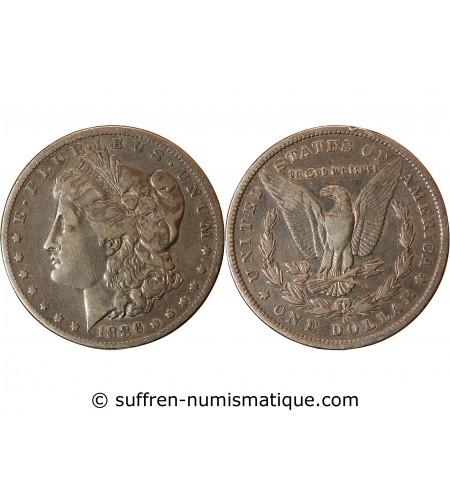 """USA - DOLLAR ARGENT 1886 O NEW ORLEANS """"Morgan Dollar"""""""