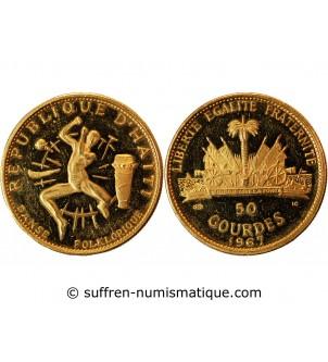 HAITI - 50 GOURDES OR 1967