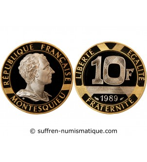 MONTESQUIEU - 10 FRANCS OR...