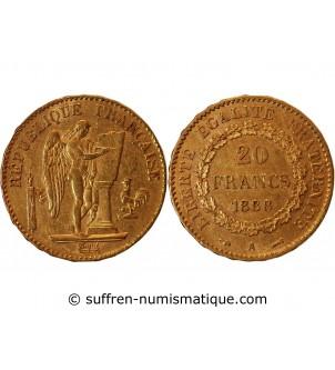 GENIE - 20 FRANCS OR 1888 A...