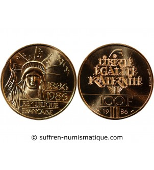 LIBERTE - 100 FRANCS OR 1996