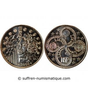 FRANCE, EUROPA - 1/4 EURO...