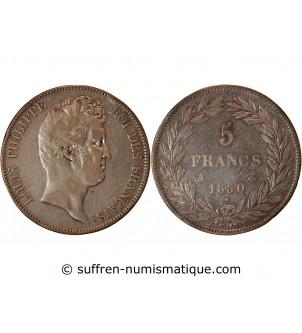 LOUIS PHILIPPE - 5 FRANCS...