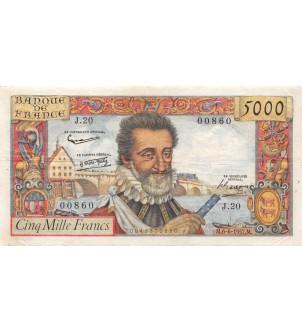 FRANCE, HENRI IV, 5000...