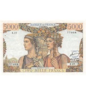 FRANCE, TERRE ET MER, 5000...
