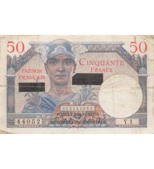 BILLET DU TRESOR, 50 FRANCS...