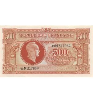 BILLET DU TRESOR, 500...